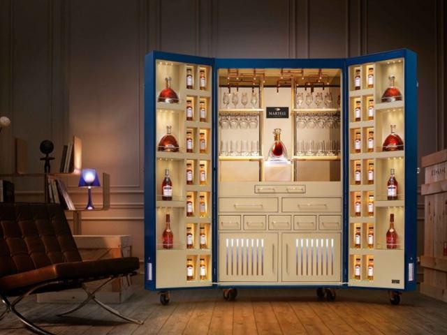 Шкаф для виски своими руками